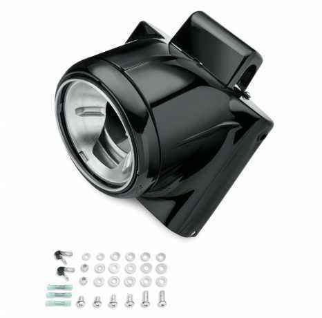 Freight Train Headlight Nacelle, gloss black