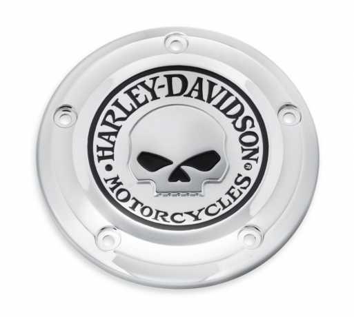 Harley-Davidson Luftfilter-Zierblende Willie G Skull  - 61300520