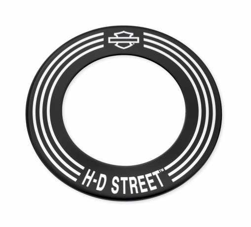 Harley-Davidson Fuel Cap Medallion H-D Street Script  - 61300586