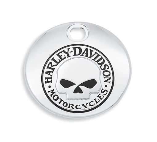 Harley-Davidson Tankkonsolenklappe Willie G. Skull  - 61374-04