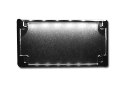 """Radiantz Radiantz 6"""" License Plate Lights, chrome  - 61-388"""