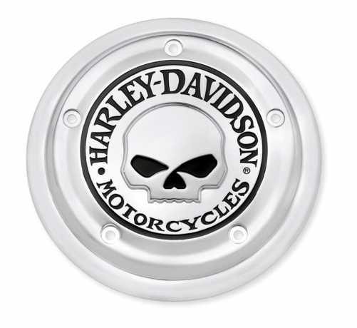 Harley-Davidson Luftfilter-Zierblende Willie G Skull  - 61400007