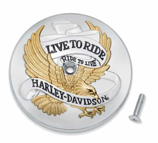Harley-Davidson Live To Ride Air Cleaner Trim  - 61400455