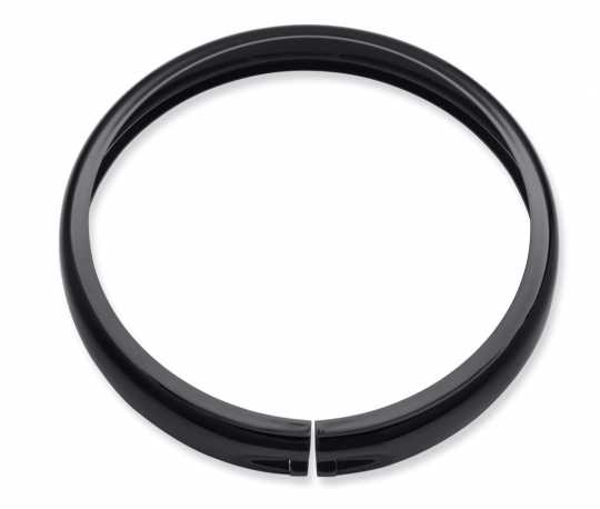 "Harley-Davidson Headlamp Trim Ring 5-3/4"" black  - 61400574"