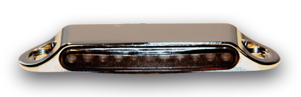 Kodlin Stripe LED turn signal,single rear, chrome  - 61-8116