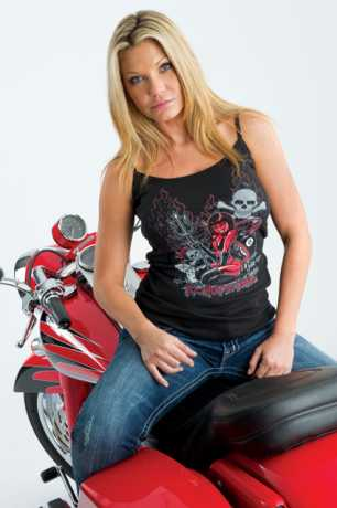 Easyriders Roadware Easyriders Roadware Shirt Tank Too hot to handle  - 61-9525V