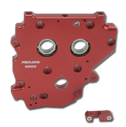 Feuling Cam Support Plate with Gear Drive Cams
