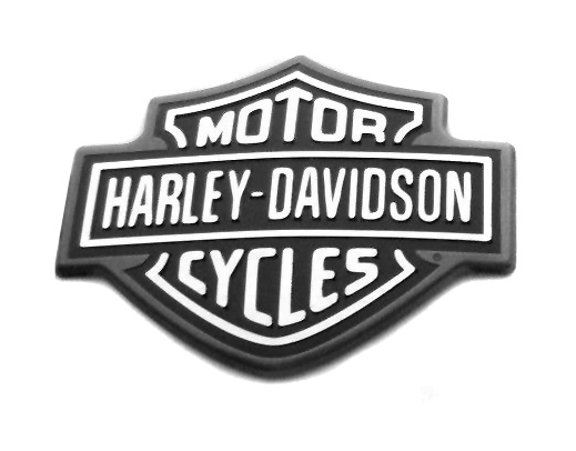 Harley-Davidson Tank Medallion right Bar & Shield  - 62446-10