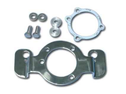 Custom Chrome Luftfilterhalter chrom  - 62-9303