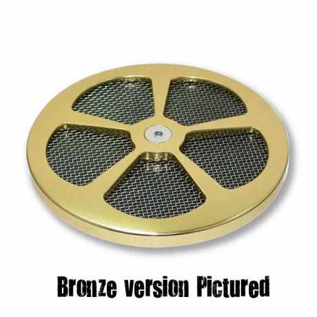 Custom Chrome Chrome 5-Splade Air Cleaner Cover  - 62-9333