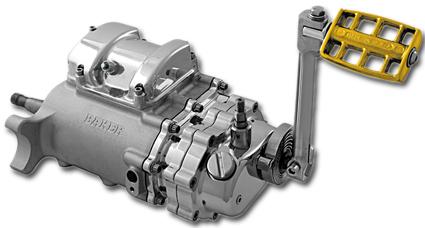Baker Baker 6-in-4 Getriebe mit Kicker, poliert  - 63-2310