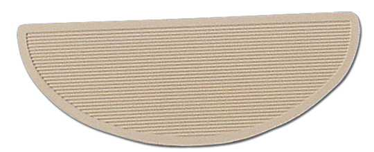 Oval Floorboard Mats, white