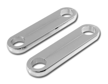 """Custom Cycle Engineering Tweek Bar Solid 3/4"""" alu chrome  - 63-2741"""