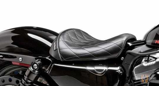 Le Pera Bare Bones Diamond Stitch Seat LK-006DM