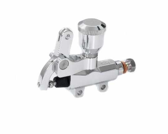 Kustom Tech Bowdenzugbetätigter Bremszylinder 14 mm mit Reservoir, poliert  - 64-2866