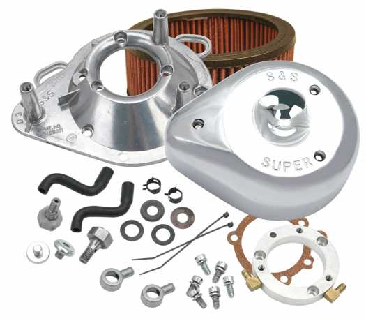 S&S Cycle S&S Teardrop Air Cleaner  - 64-5800
