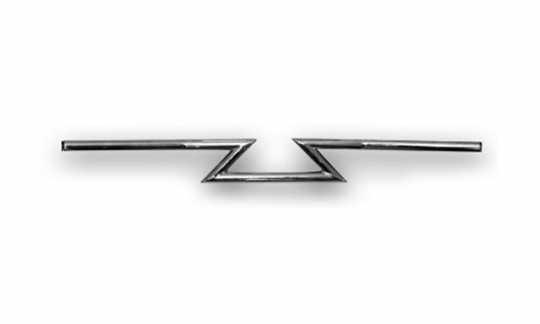 """Custom Chrome Custom Chrome Z-Bars Lenker 1"""" chrom  - 64-8959"""