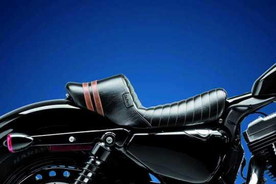 Le Pera Le Pera Stubs Spoiler Solo Seat black & brown  - 64-1295