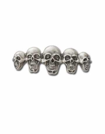 Custom Chrome Custom Pin Multi-Skull  - 64-2010