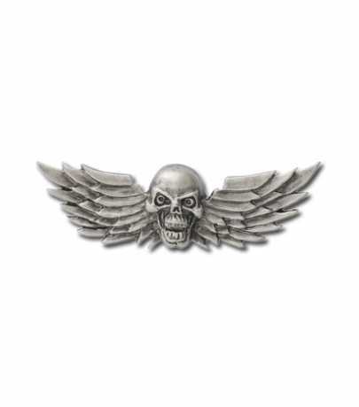 Custom Pin Skull with Wings