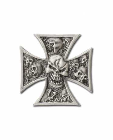 Custom Pin Iron Cross & Skull  - 64-2013