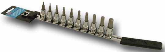 "CruzTOOLS CruzTOOLS 3/8"" Bit Set 10er Standard Inbus INCH  - 64-5535"