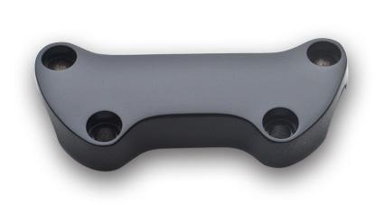 Standard Lenkerklemmen, schwarz glatt  - 64-8009