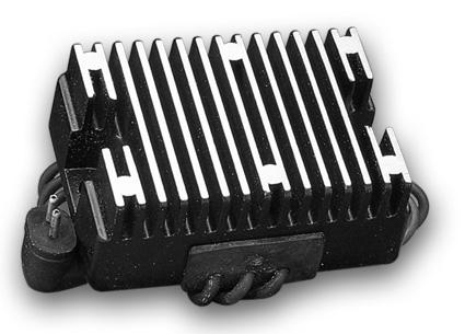 Motor Factory Motor Factory Spannungsregler schwarz  - 64-8360