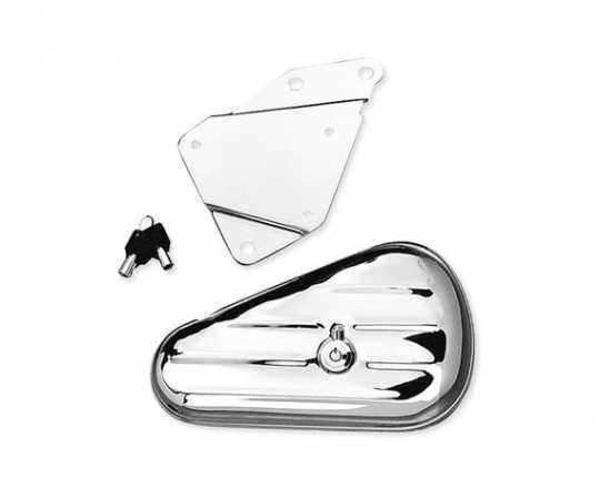Harley-Davidson Softail Toolbox Right Hand, chrome  - 64937-00A