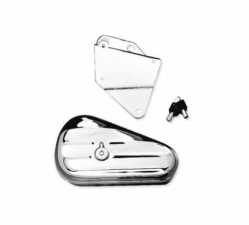 Harley-Davidson Toolbox Left Hand, chrome  - 64938-00