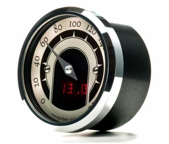 Motogadget Motogadget Motoscope Tiny Speedster Tacho poliert  - 65-2566