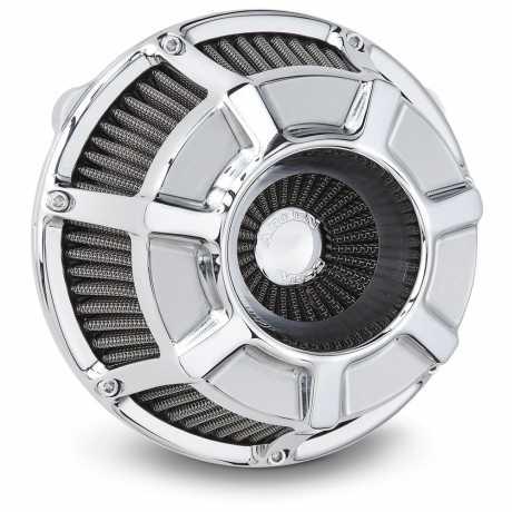 Arlen Ness Arlen Ness Beveled Inverted Luftfilter, Chrom  - 65-4129