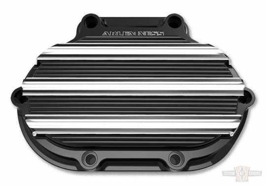 Arlen Ness Arlen Ness 10-Gauge Transmission Side Cover, Black Cable  - 65-4199