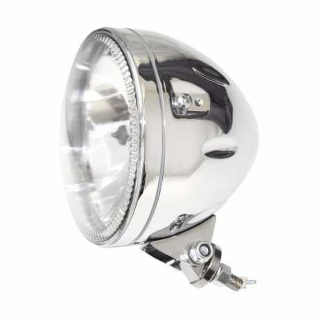 "Highsider Skyline 5.75"" LED Scheinwerfer chrom / unten"