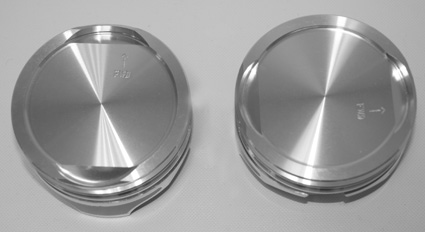 KB Pistons KB geschmiedete Kolben Kit 96-117 10.5:1  - 65-0879V