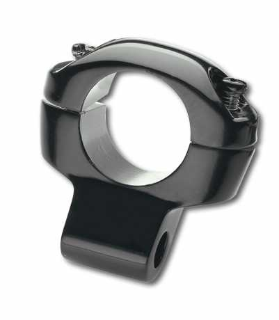 "Custom Chrome Custom Mirror Clamp 1""  black  - 65-1847"
