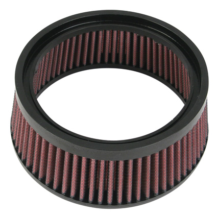 S&S Cycle S&S High Flow Air Cleaner Standard (Filter only)  - 65-2095