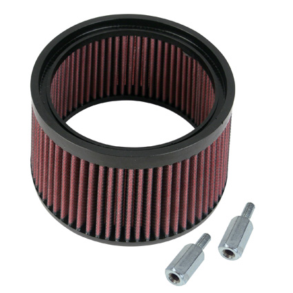 """S&S Cycle S&S High Flow Air Cleaner 1""""Taller Kit  - 65-2096"""