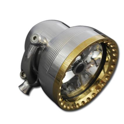 "Cycle Kraft 4"" Neo-Fusion Scheinwerfer, poliert/Messing  - 65-2656"