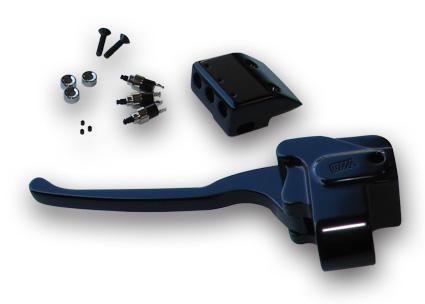 GMA GMA Handlebar Clutch Perch & Switch Kit, black  - 65-2963