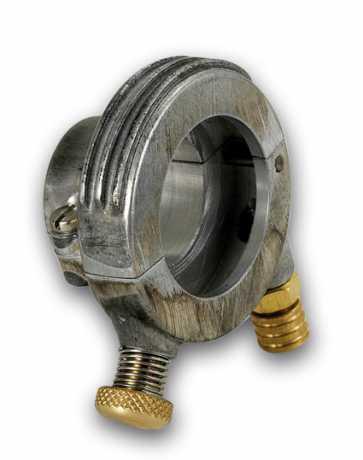 Kustom Tech Kustom Tech Deluxe Gaszuggehäuse Alu roh  - 65-3065