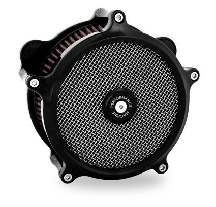 Performance Machine PM Super Gas Air Cleaner black  - 65-3247