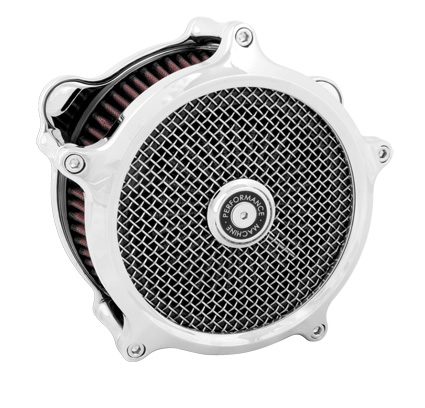 Performance Machine PM Super Gas Air Cleaner chrome  - 65-3248
