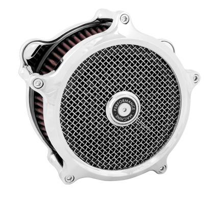 Performance Machine PM Super Gas Air Cleaner chrome  - 65-3246