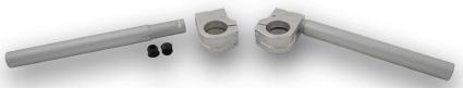 LSL LSL Clip on Handlebar Steering Tube Silver Silver  - 65-3793