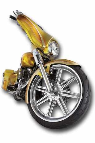 Arlen Ness Arlen Ness Smooth Hot Legs Tauchrohre, Chrom  - 65-4167