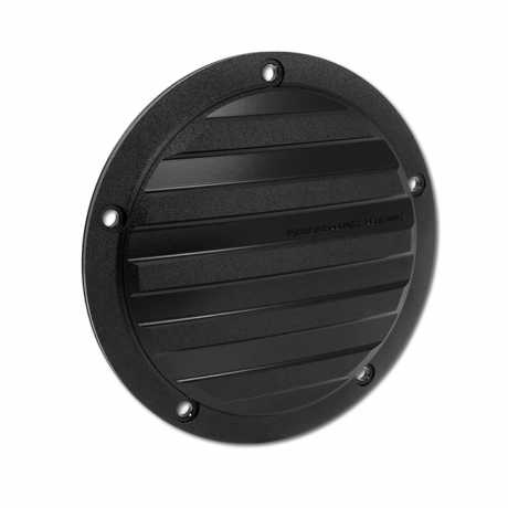 Performance Machine PM Drive derby cover, black  - 65-5904