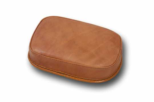 Five Stars 5-Stars Suction Cup Pillion Pad Brown Leather, plain  - 65-6107
