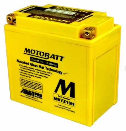 Motobatt Motobatt Batterie MBYZ16H 16.5Ah 240CCA  - 65-6129