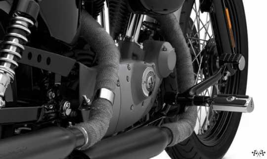 Harley-Davidson Screamin Eagle Auspuffband Kit Midnight Grey  - 65858-08